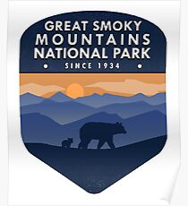 Great Smoky Mountains National Park 4 Poster