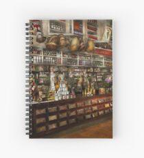 Grocery - Edward Neumann - The groceries 1905 Spiral Notebook