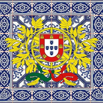 Portuguese Tile Art Design by heroismo1963