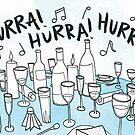 Hurra! Hurra! Hurra! by Gina Lorubbio