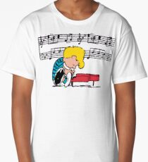 SCHROEDER MUSIC NOTES Long T-Shirt