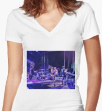 Tropo Women's Fitted V-Neck T-Shirt