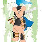 Grumpy Teds The Warrior 1 by grumpyteds