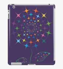 Shining abstract dandelion iPad Case/Skin