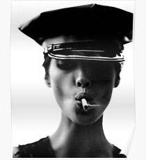 Helmut Newton Smoking Hot Poster