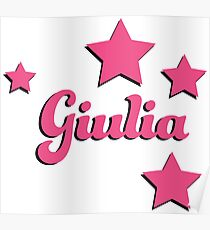 Giulia's first name Poster
