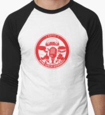 Nerd Lunch University Seal Men's Baseball ¾ T-Shirt
