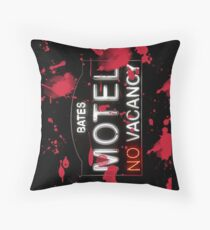 Bloody Bates Motel - iPad Case Throw Pillow