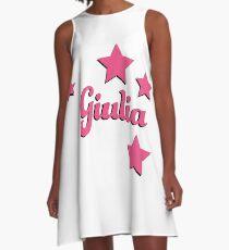 Giulia's first name A-Line Dress