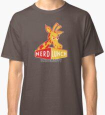 Nerd Lunch University Mascot Classic T-Shirt