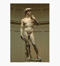 David; Michelangelos Meisterwerk Fotodruck