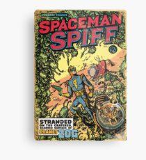 Calvin: The Spiffy Spaceman Metal Print