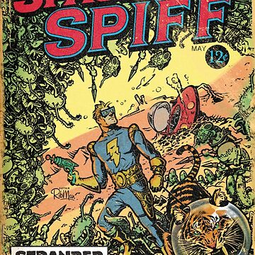 Calvin: The Spiffy Spaceman by RibMan