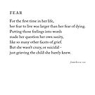 Fear by Franchesca Cox
