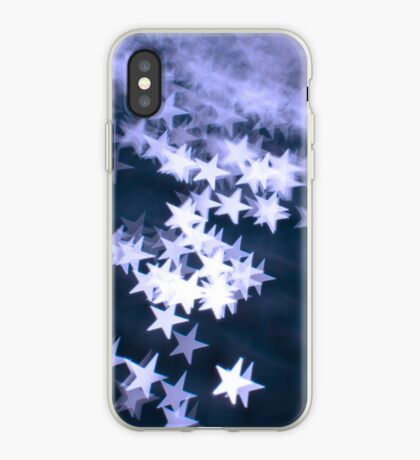 Cool Blue Stars - iPhone Cover iPhone Case