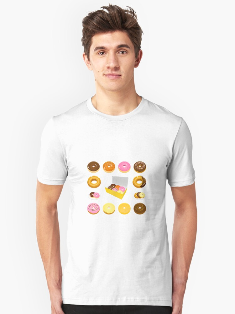 Donuts = love Unisex T-Shirt Front