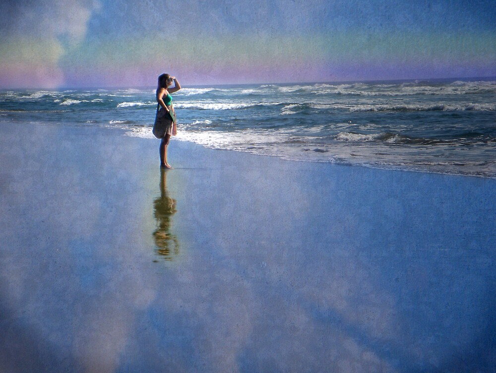 Waiting for Her Ship to Come In by Tama Blough