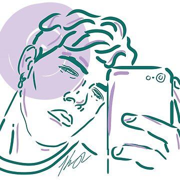 """""""Selfie"""" by TeeShells"""