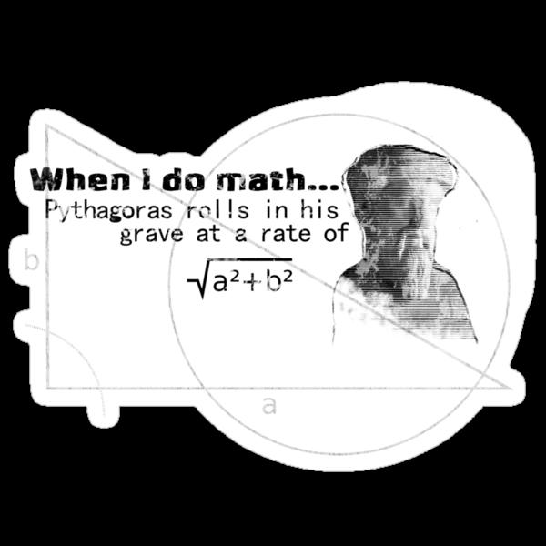 Pythagoras thinks I'm dumb by Ian Woodward