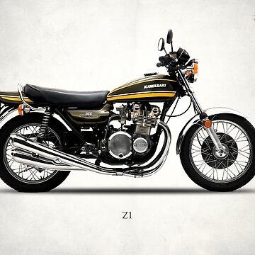 The Classic Z1 Motorcycle by rogue-design