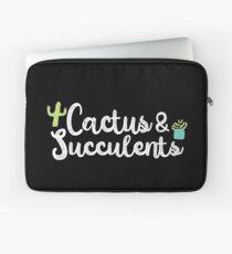 Kaktus & amp; Sukkulenten-Blumentopf Blühende Kakteen Laptoptasche