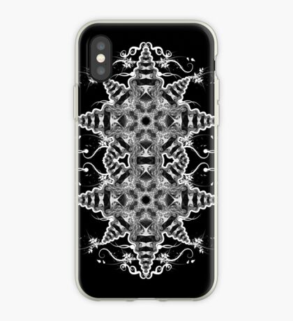 Geometric Mono Star iPhone Case