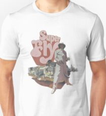 SUPERFLY- Classic Film Poster Slim Fit T-Shirt