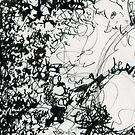 Black Tangle by Valentina Zampedri