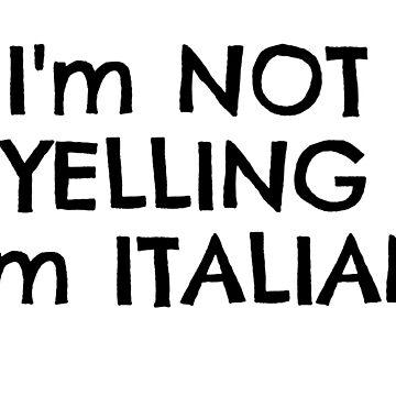 Funny Italy Europe Nationality Italian Joke T-Shirts by MrAnthony88