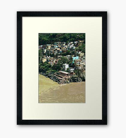 Dev Prayag Framed Print
