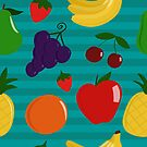 Fruity Background by Pamela Maxwell