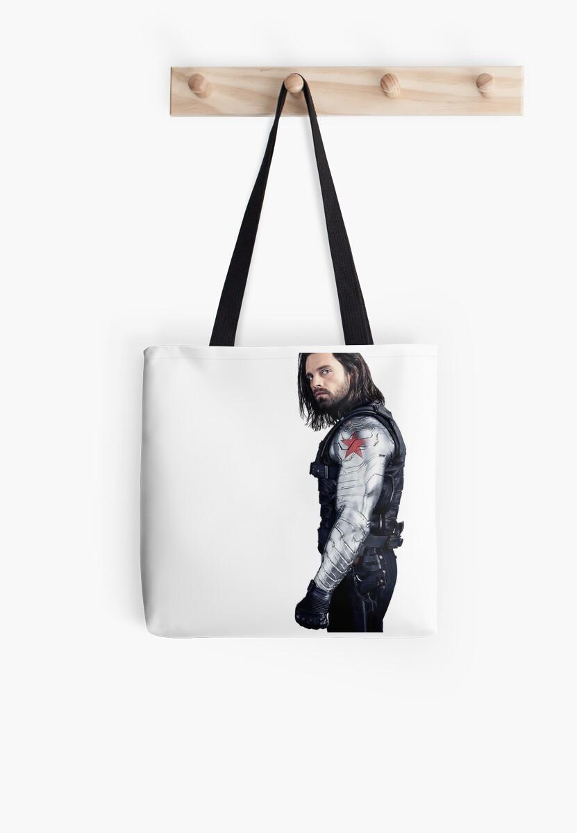 Sebastian Stan Tote Bag