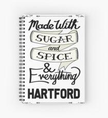 Sugar and Spice Hartford Spiral Notebook
