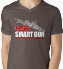M56 Smartgun State of the Bad Ass Art Mens V-Neck T-Shirt