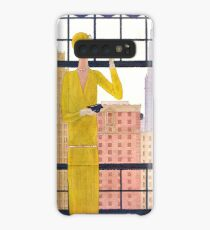 Vogue Cover - May 1928 - City View Case/Skin for Samsung Galaxy