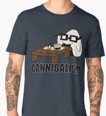 Cannibalism [Onigiri eats Rice] Men's Premium T-Shirt