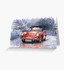 Porsche 356 B Roadster Greeting Card