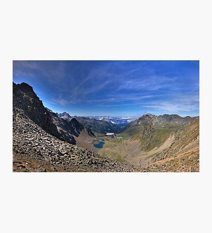 Land der Berge Photographic Print