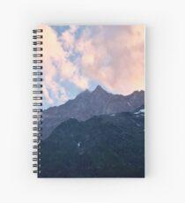 Sunset ridgeline Spiral Notebook