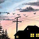 Sunset by MadameCat-Art