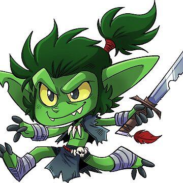 Goblin Boy - Cute D&D Adventures by kickgirl