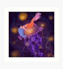 I dream of jelly(fish) Art Print