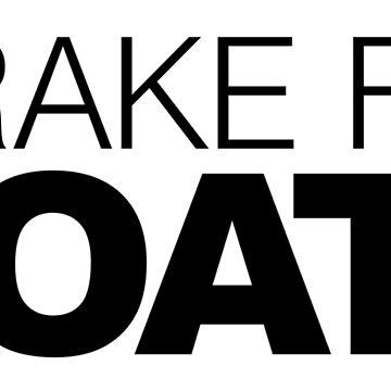 I brake for Goats by LudlumDesign