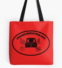 Disabledboaters.org Tote Bag