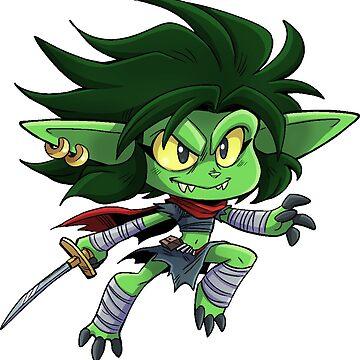 Goblin Girl - Cute D&D Adventures by kickgirl