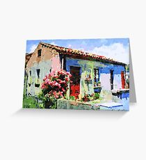 Catanzaro: home Greeting Card
