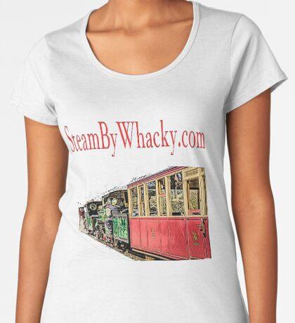 Steam bywhacky.com Women's Premium T-Shirt