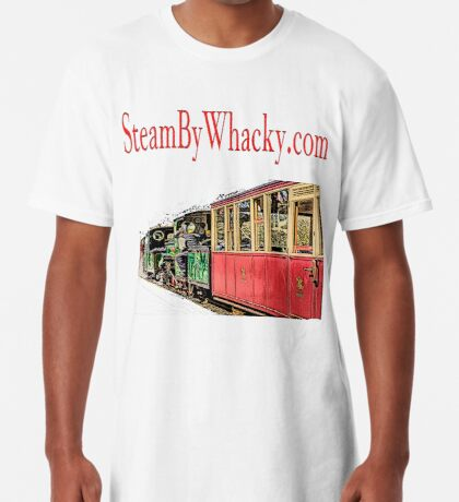 Steam bywhacky.com Long T-Shirt