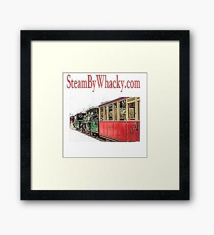 Steam bywhacky.com Framed Print