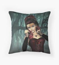 Lost in a fog Throw Pillow